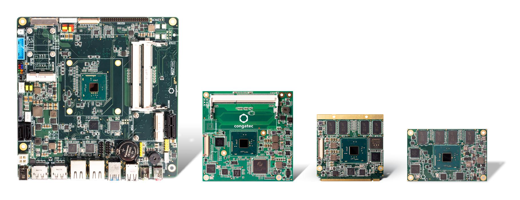 congatec XA4 product family Intel Atom