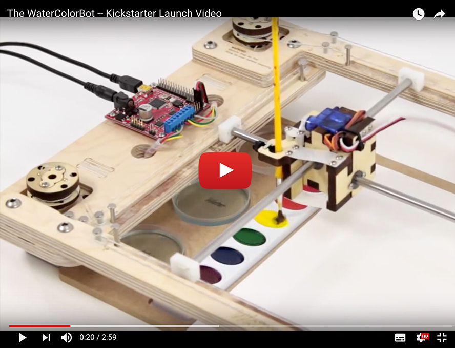 WaterColorBot Doubles as a STEAM Laboratory | Elektor Magazine