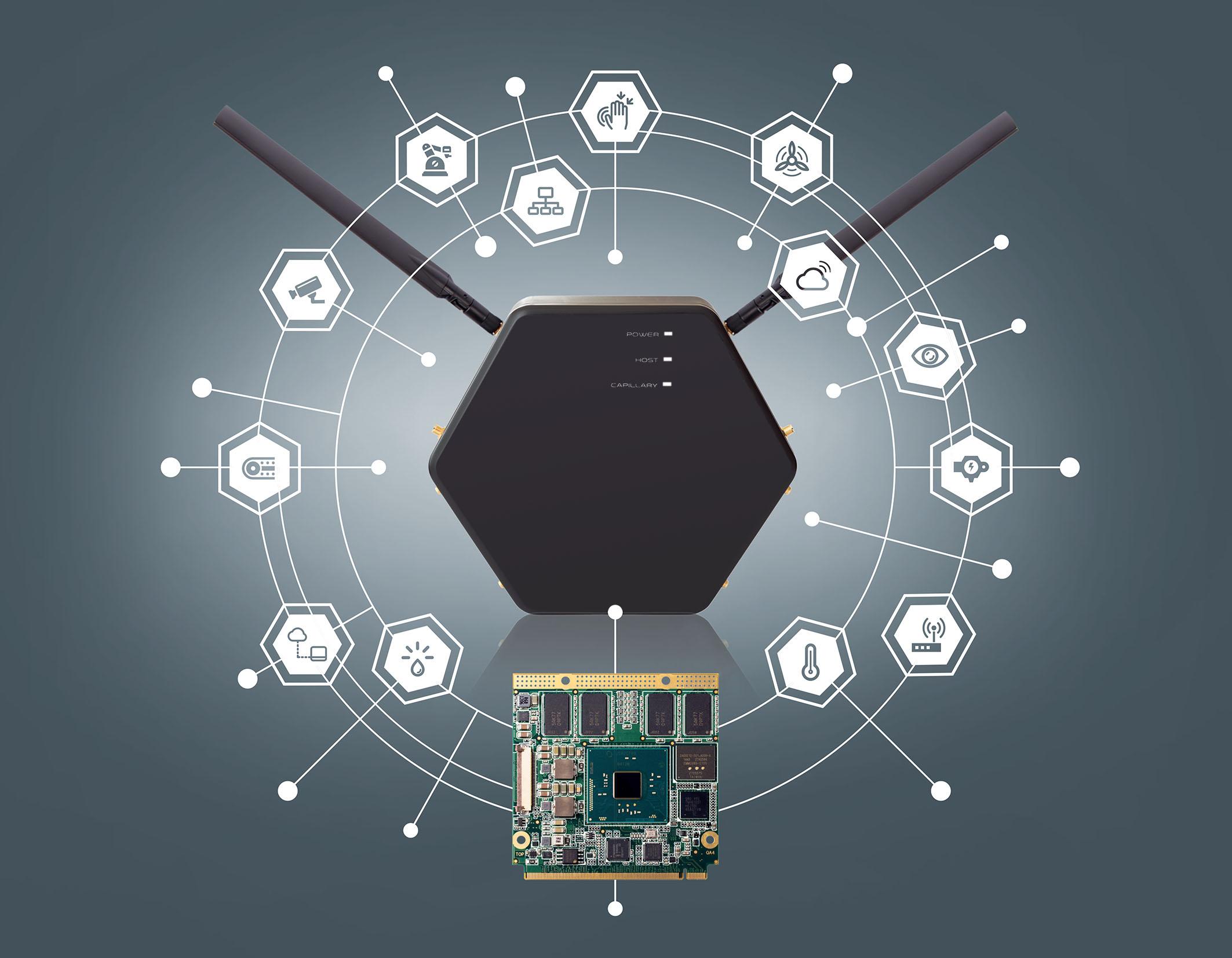 congatec IoT gateway system