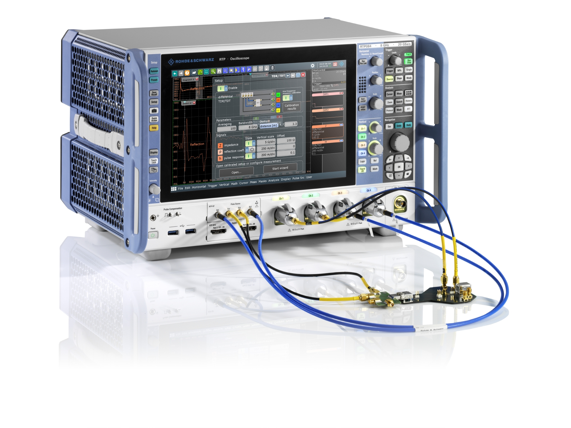 RTP High-Performance Ooscilloscope from Rohde & Schwarz Doubles Maximum Bandwidth to 16 GHz