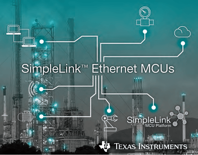 TI SimpleLink Ethernet MCUs Connect Sensors to the Cloud