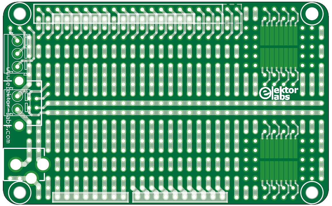 Elpb Ng Prototyping Board Revisited Elektor Magazine This Project Has Few Components Can Be Made On Veroboard And Powered When Good Connections To The Power Supply Are Especially Important Thats Why Comes With Footprints For Usb B Dc Adapter Barrel