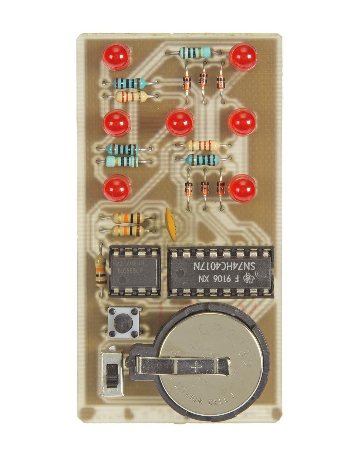 Electronic Dice Elektor Labs Magazine Circuit Wiring Diagrams