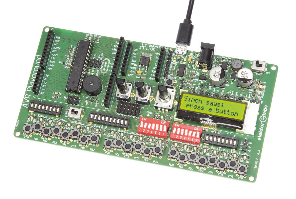 Avr Playground 129009 2 160316 Elektor Labs Magazine Franklin Oscillator Circuit Tesla Shuttle How To