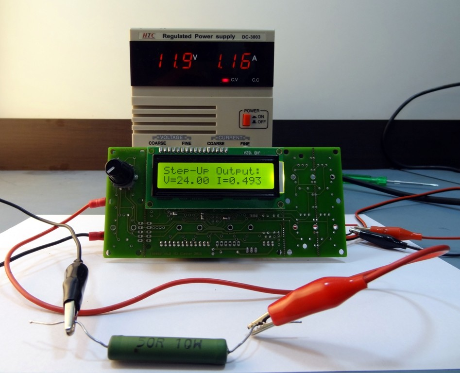 "130545-1_Platino PWM step-up ""high-voltage"" Power Supply"