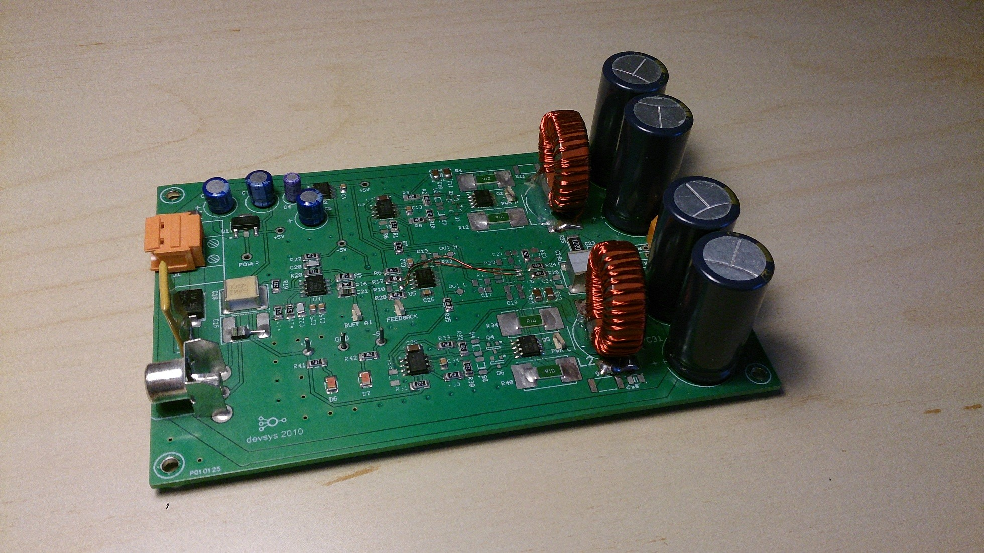 Audio Class D Power Amplifier Elektor Labs Magazine Strange Led Sequencer