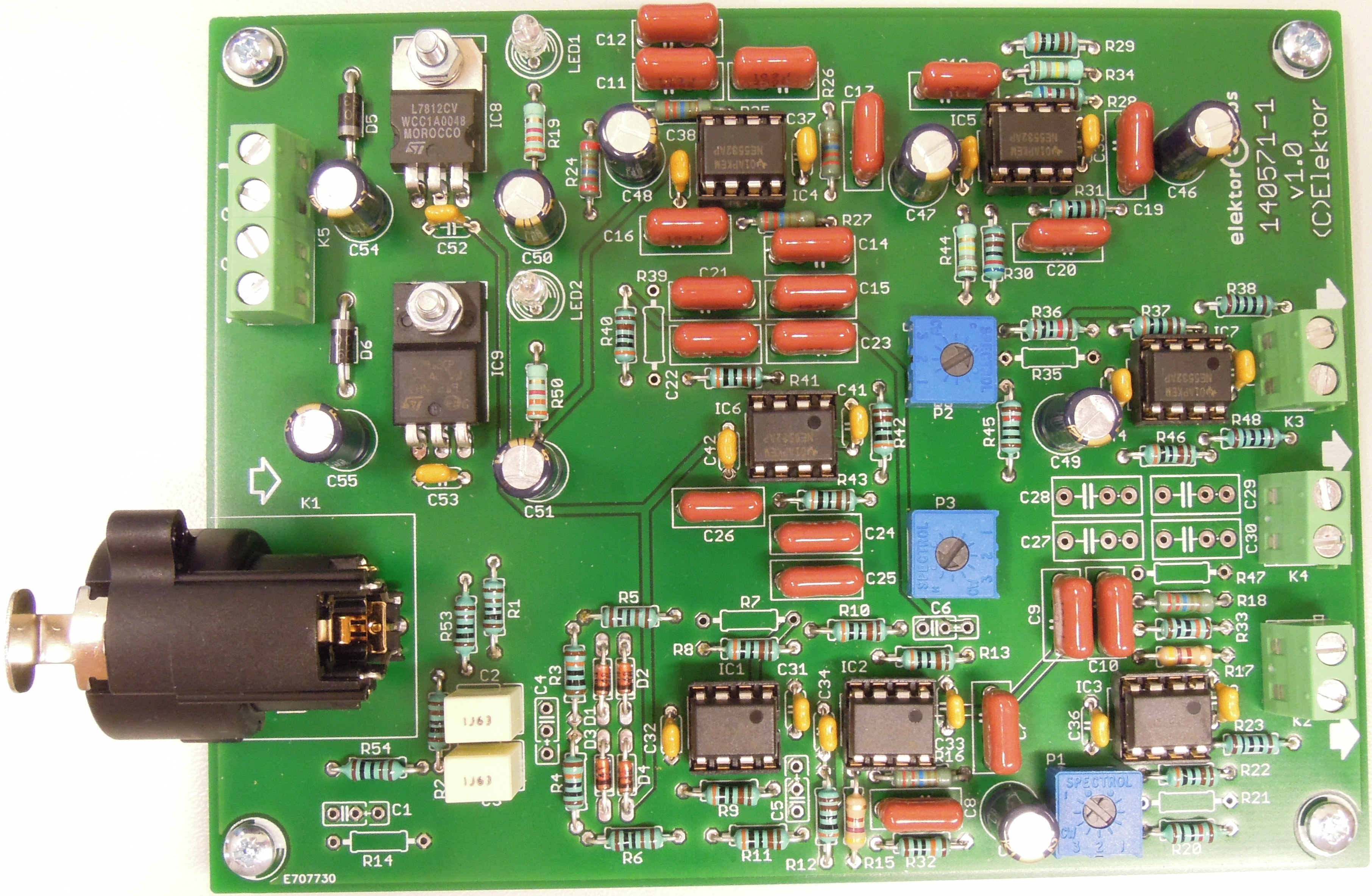 140571 Active 3way Crossover For Speaker System Elektor Labs Subwoofer Electronic Design Magazine
