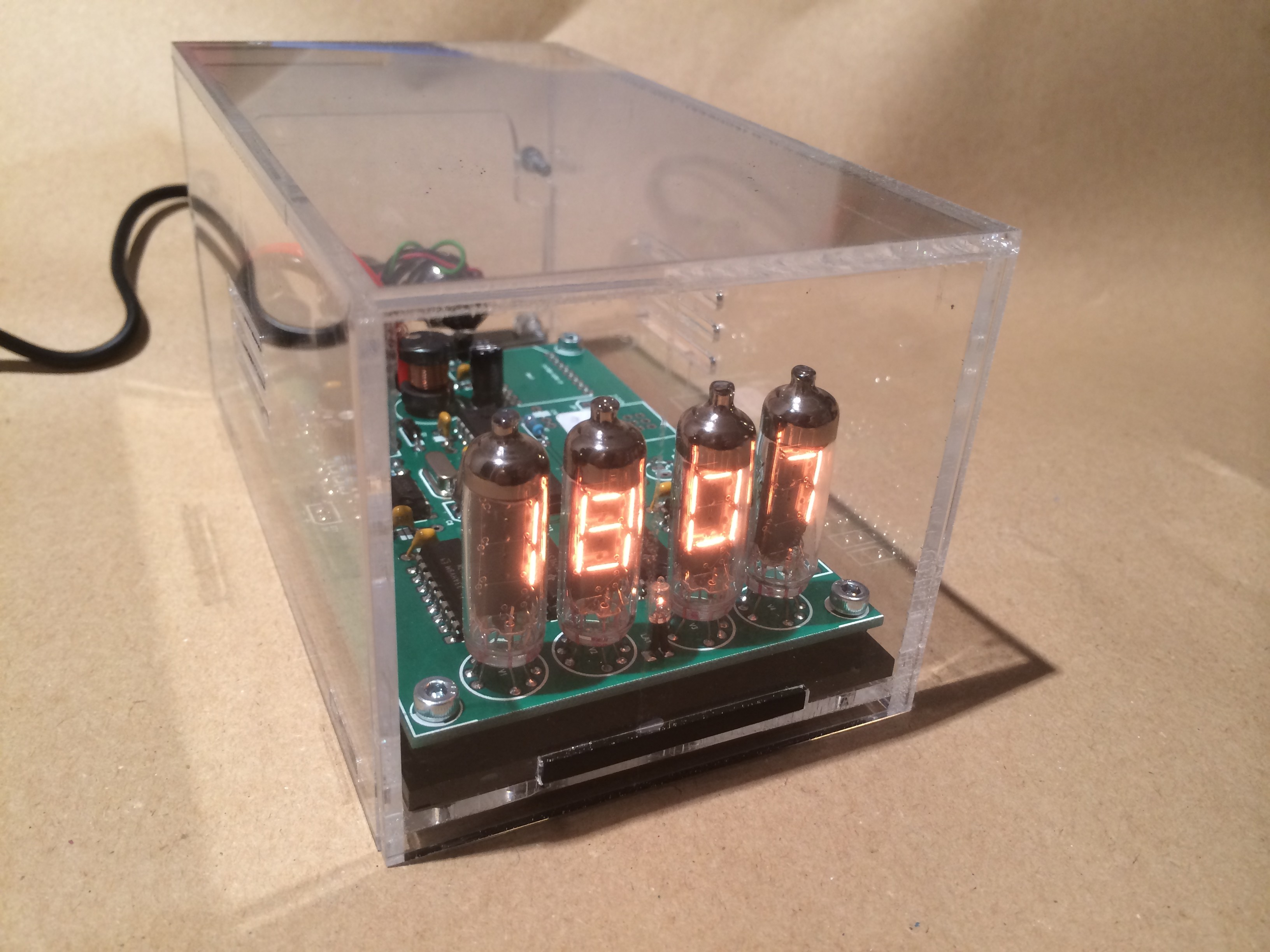 Numitron Arduino Clock And Thermometer 120740 I Elektor Labs Degree Electronics Forum Circuits Projects Microcontrollers Magazine