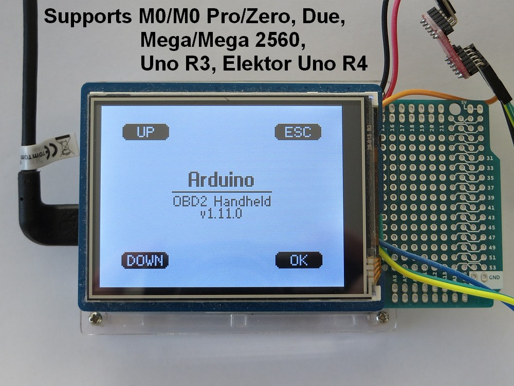 OBD2 for Arduino - Elektor LABS | Elektor Magazine