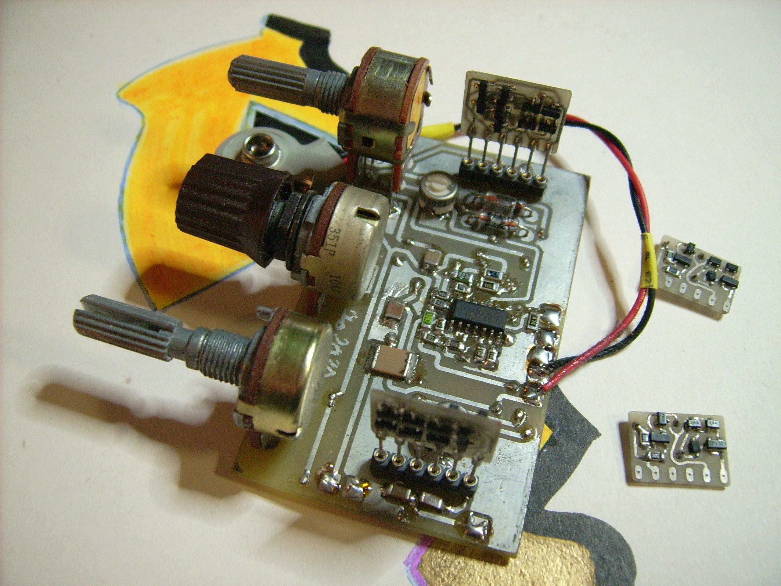 Ota Overdrive With Genuine Germanium Sound 130311 I Elektor Labs My Jfet Quartz Oscillator Public Circuit Online Simulator Magazine