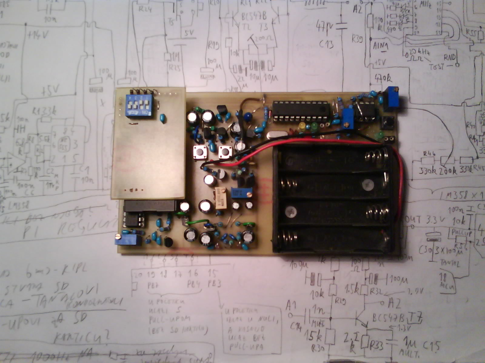 Random Number Generator 150116 Elektor Labs Magazine Circuit Furthermore Sequential Led Flasher On Timer