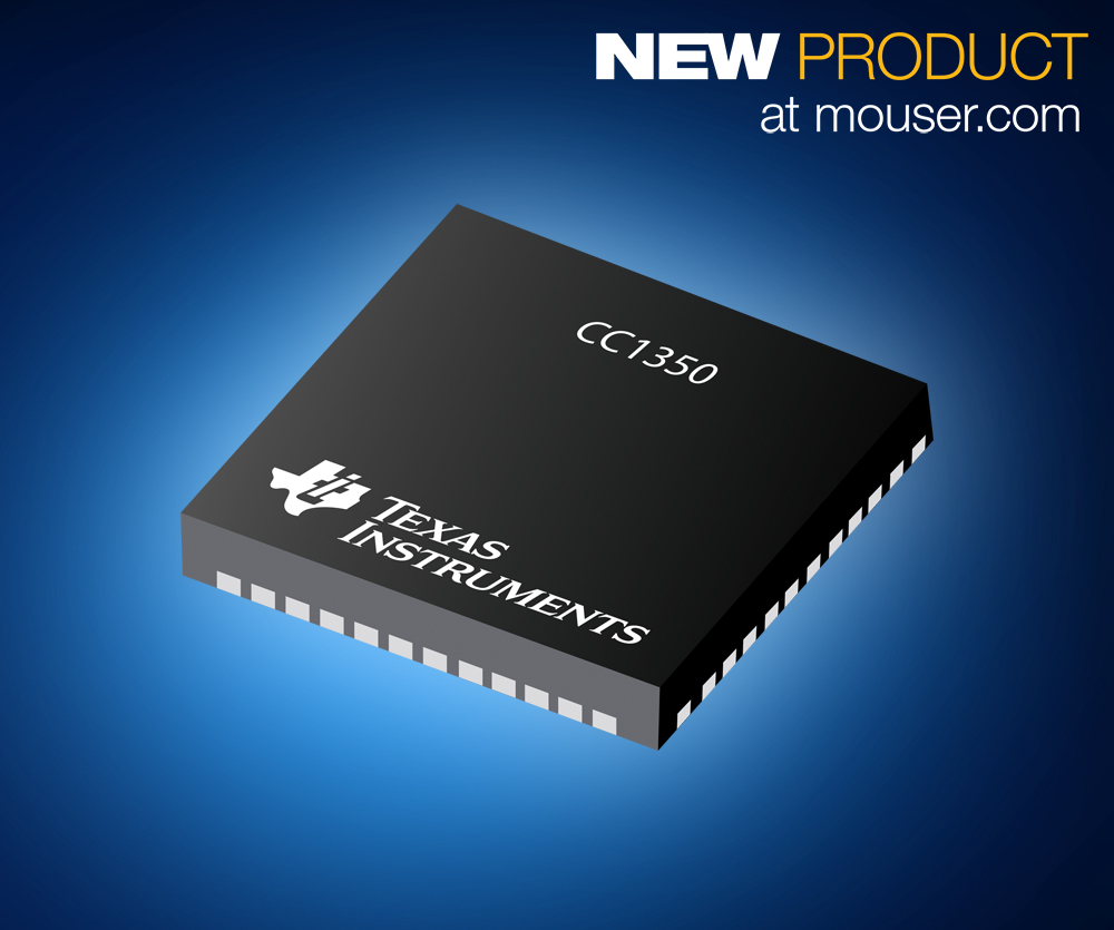 Texas Instruments ultra low power dual-band wireless microcontroller CC1350
