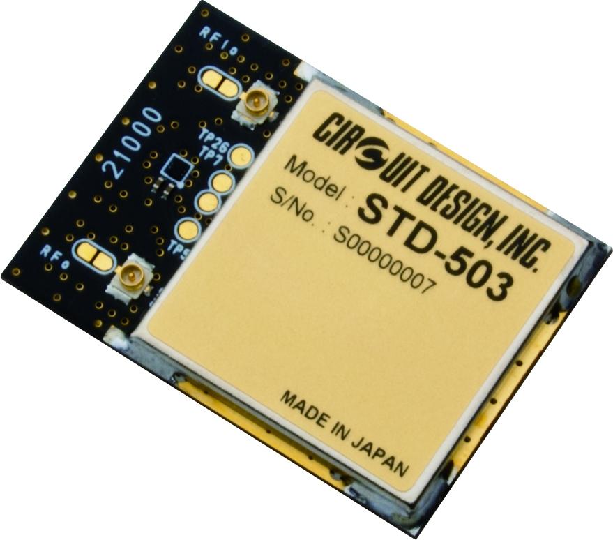 Compact transceiver STD-503 Circuit Design