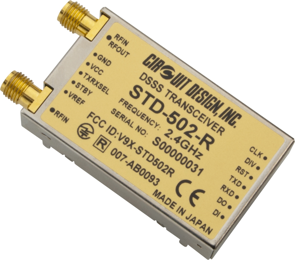 DSSS Transceiver STD-502-R Circuit Design