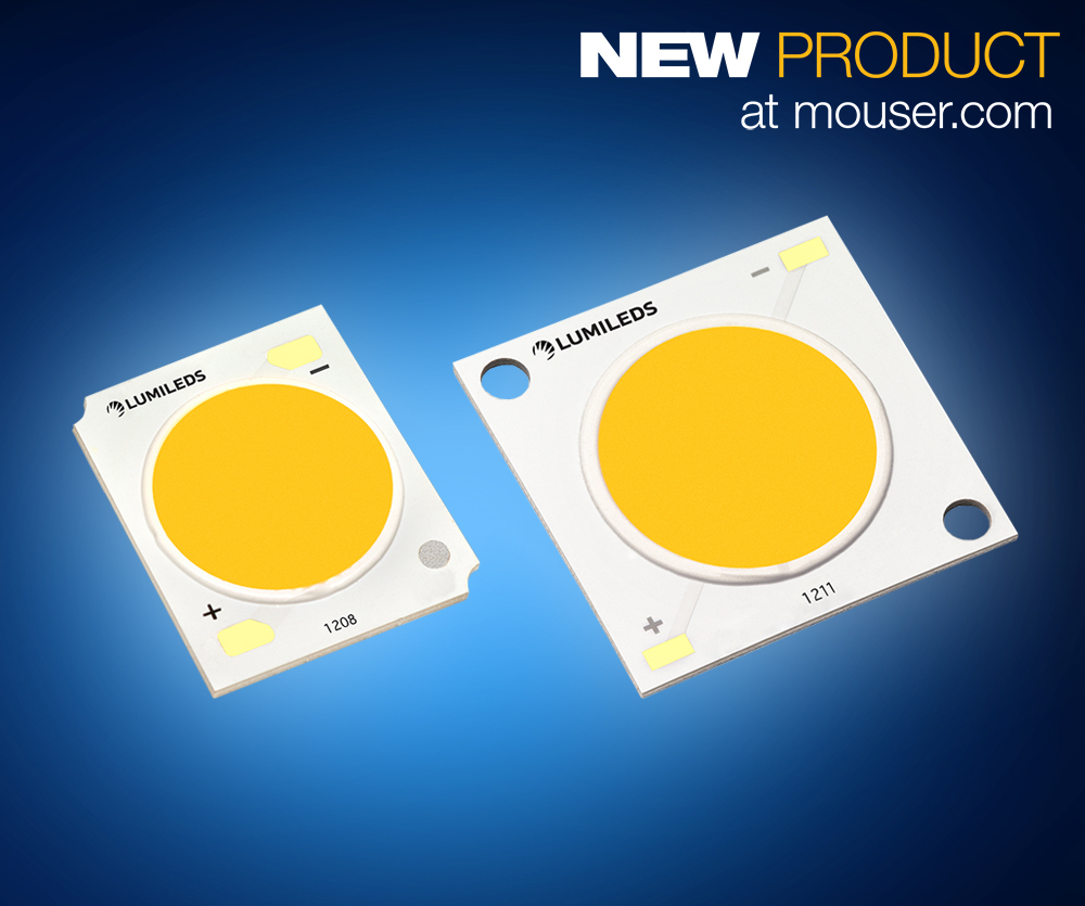 Lumileds Luxeon Series LEDs with Fresh Focus Technology
