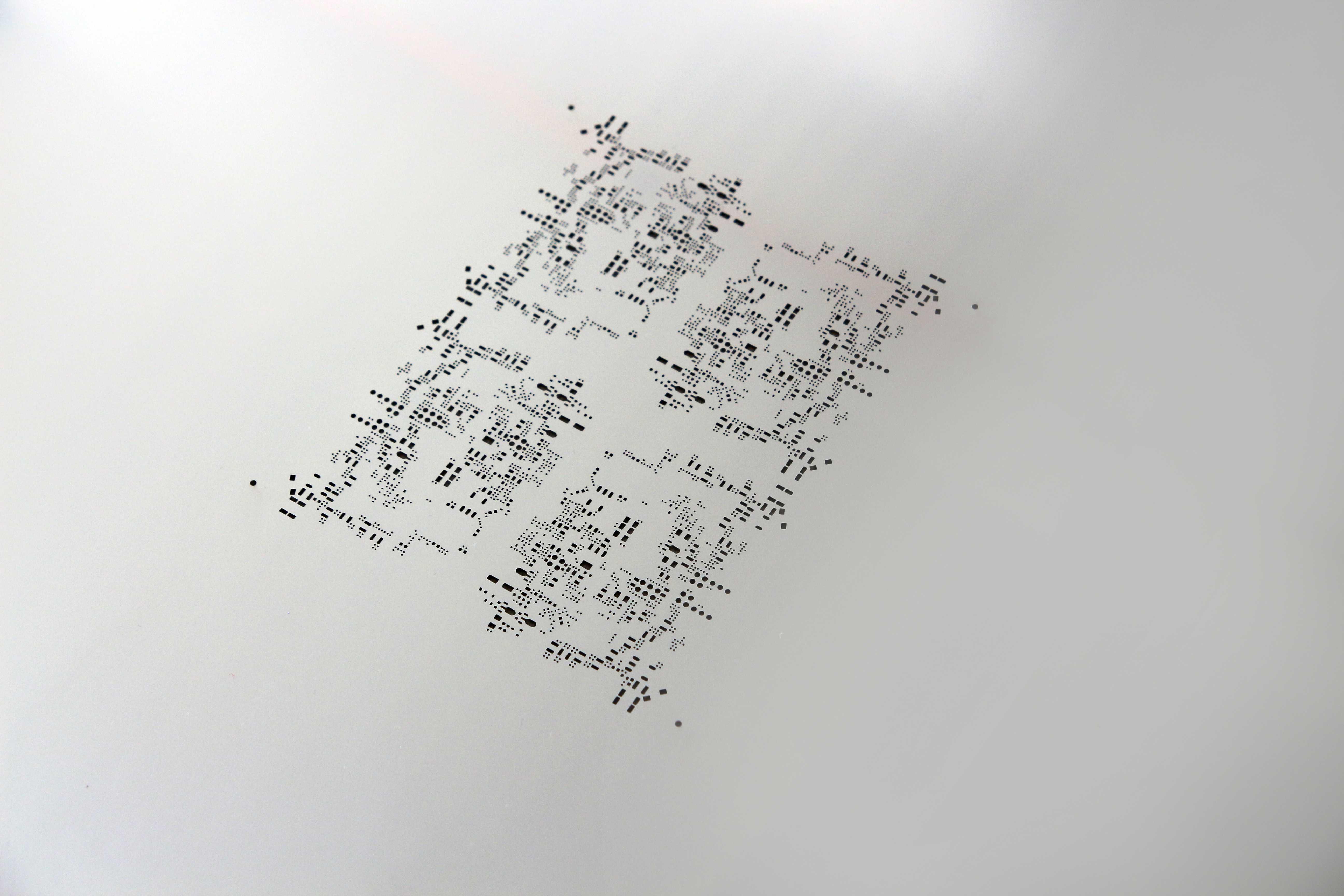 Detail SMD Schablone Multi CB