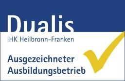 Logo Dualis Ausgezeichneter Ausbildungsbetrieb