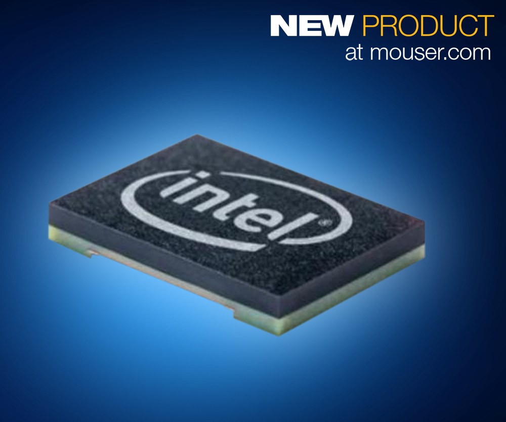 Intel Curie module available from Mouser Electronics