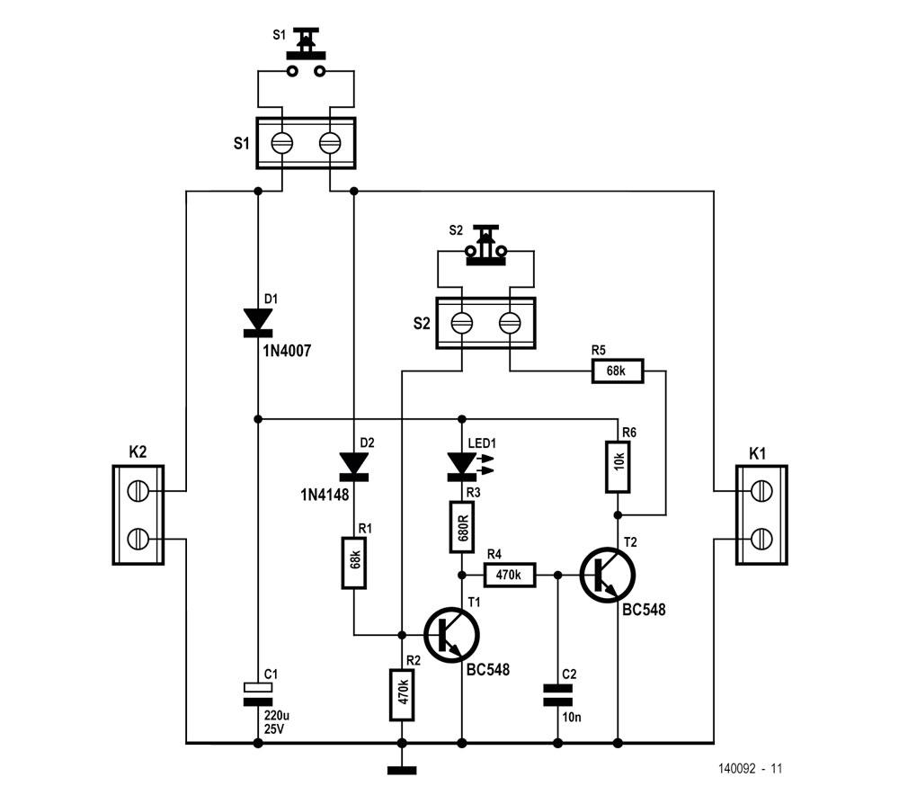 Digitaltechnik mit zwei Transistoren