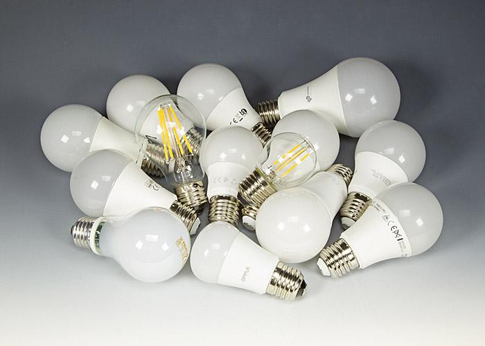 lampes à LED et parasites