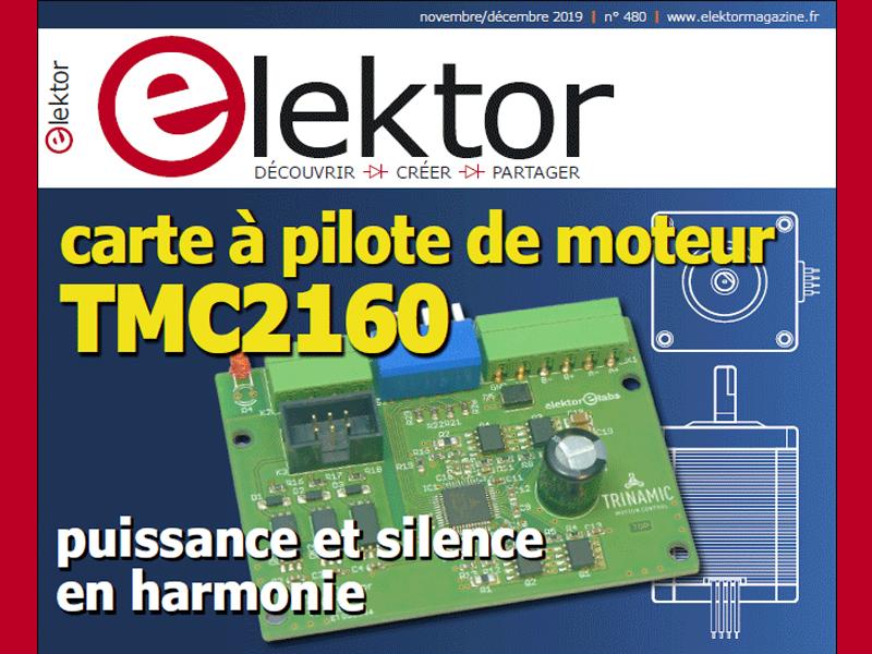 Au sommaire du nouvel Elektor : démarrage en douceur pour amplificateur * enregistreur de température avec Arduino Nano * l'Internet des Objets et le renard◦(1) * système de fichiers Flash JesFS * révision du détecteur de rayonnement (déjà amélioré)