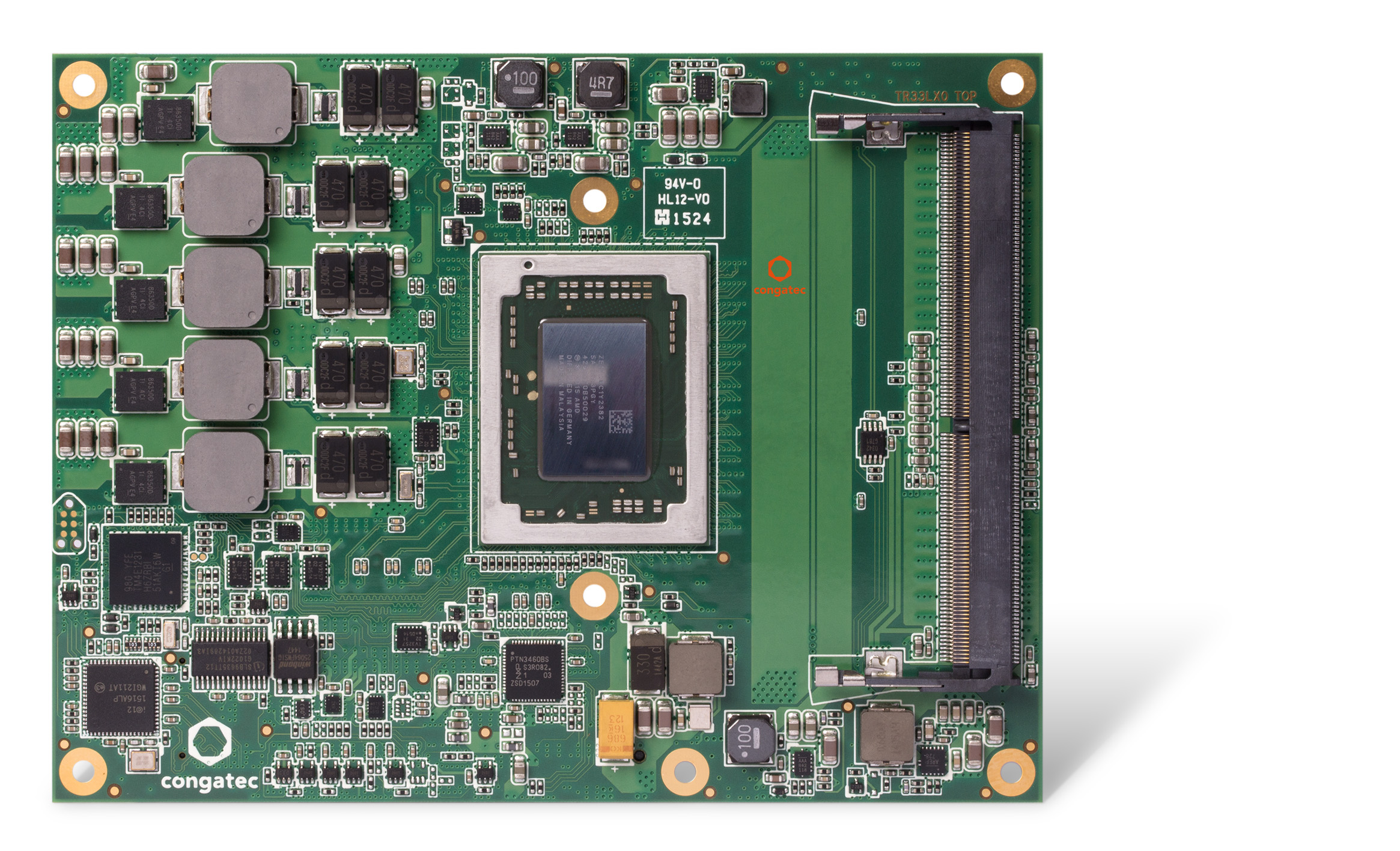 congates COM Express module TR3 with AMD G-series SoC