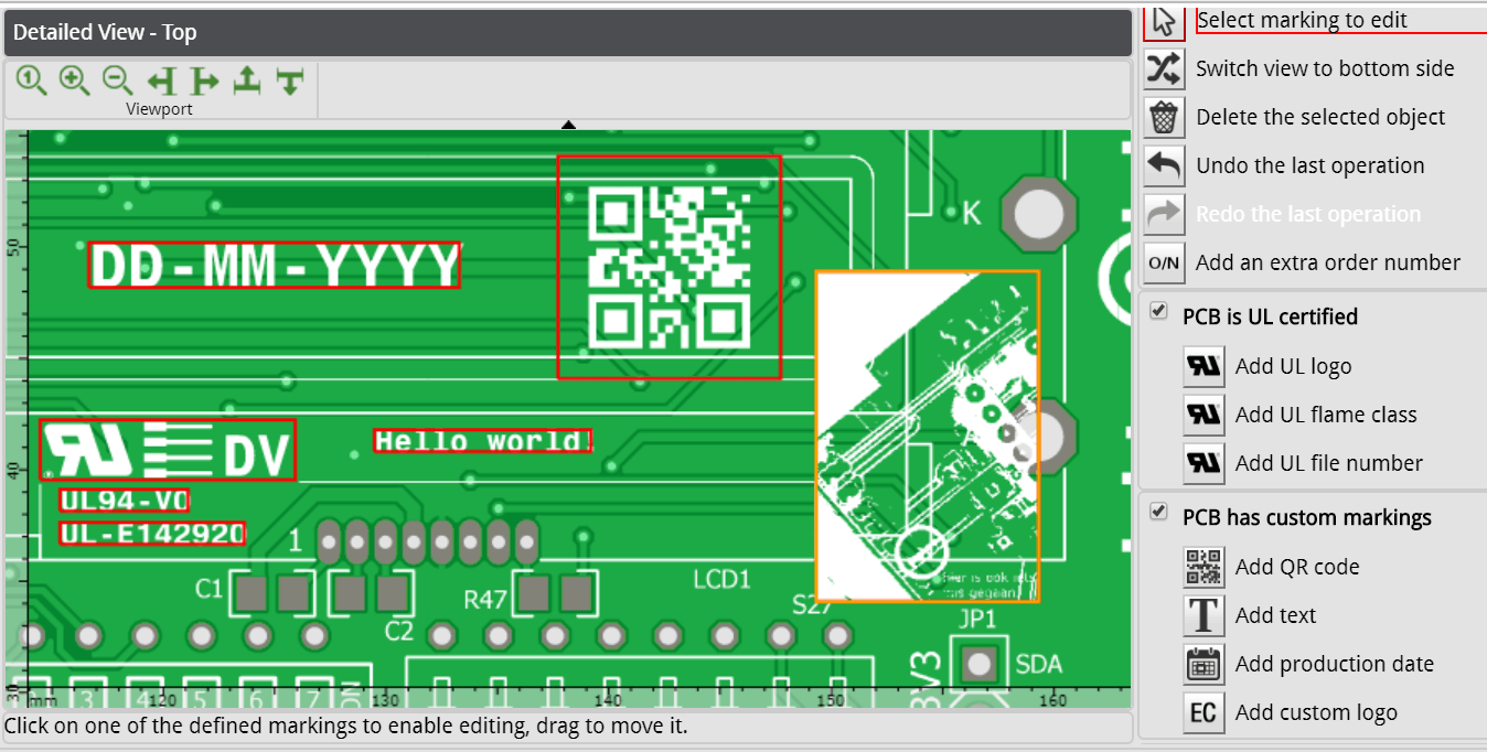 eurocircuits marking editor 3