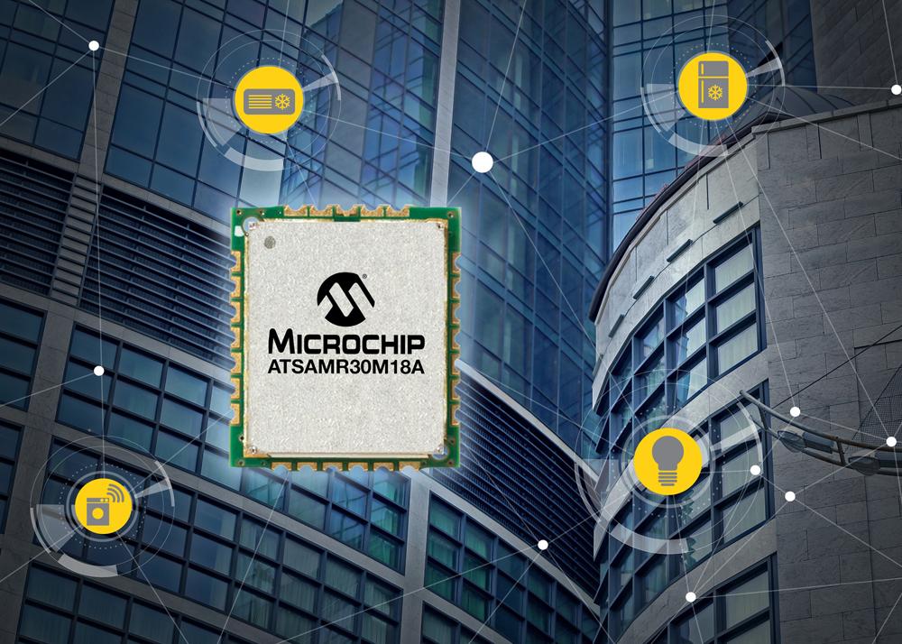 Microchip SAM R30 module