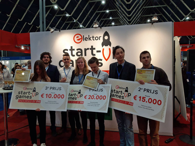 Elektor Start-up Games Winners 2019