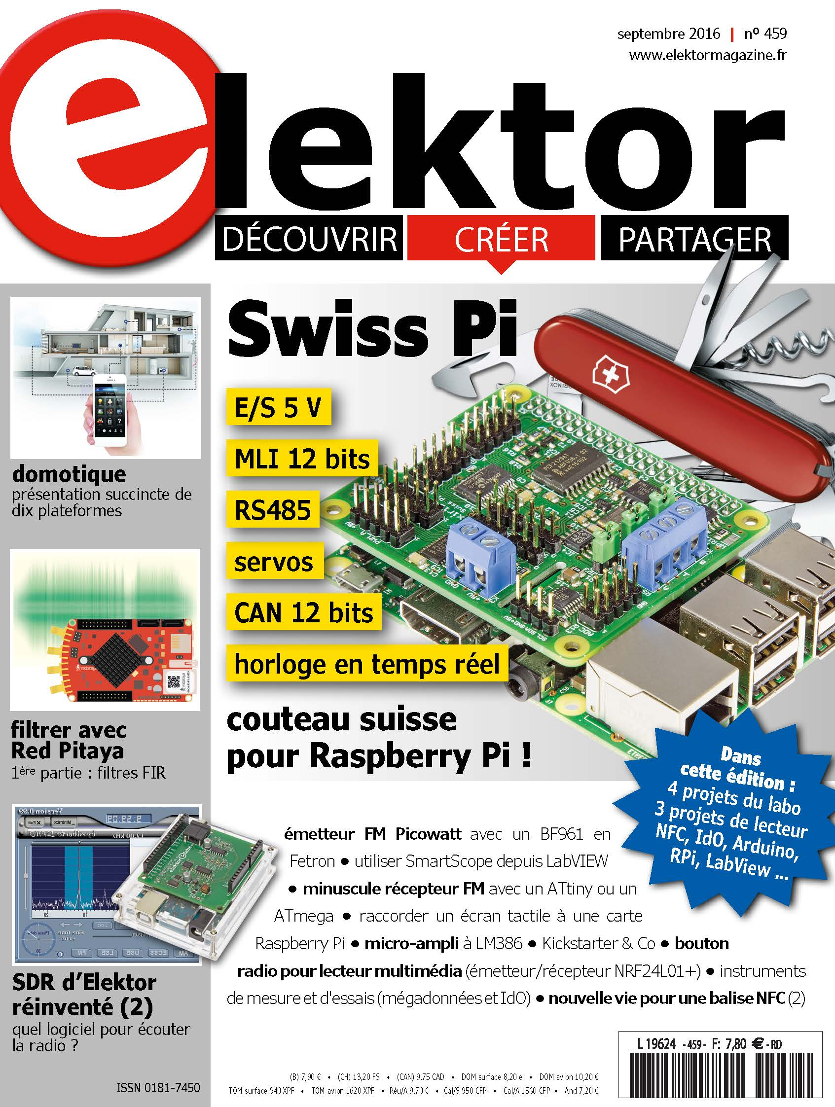 parution du numéro d'elektor de septembre 2016 | elektor magazine