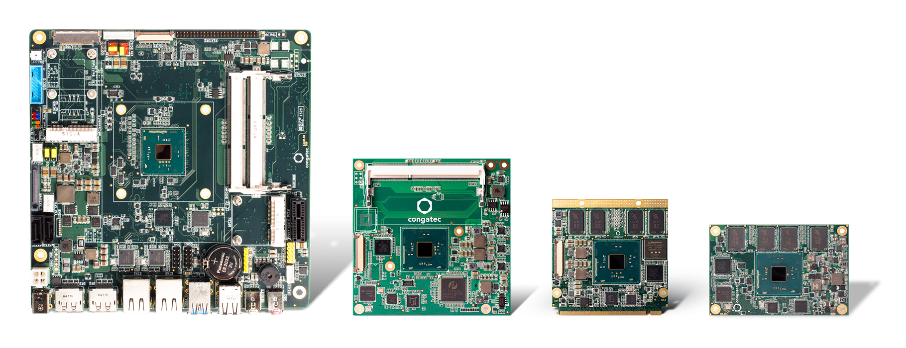 congatec XA4 product family Intel Atom