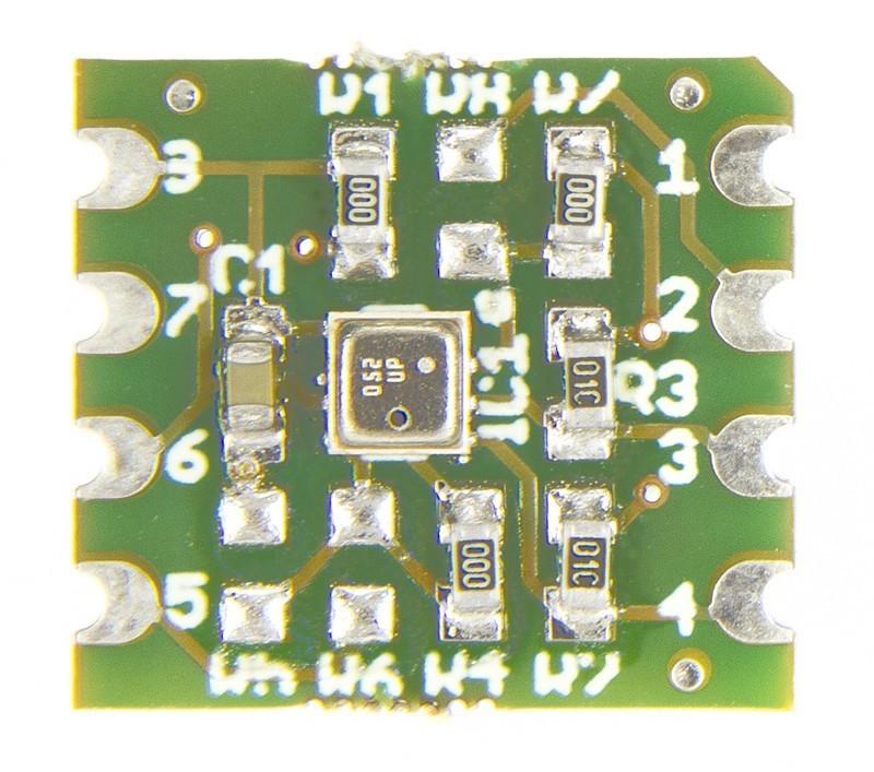 Configureren van het Elektor BME280 break-out board