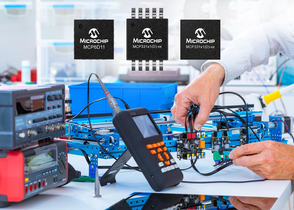 Microchip SAR ADC