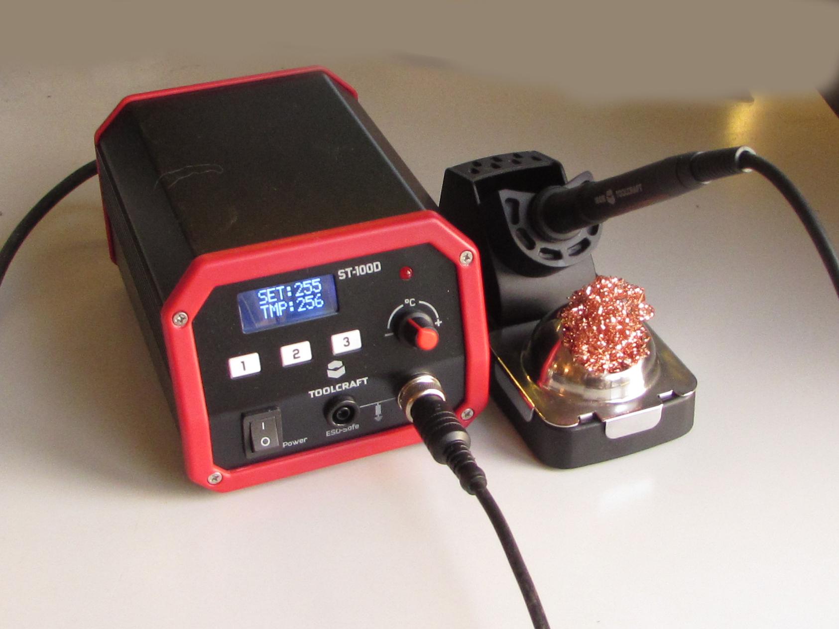 Review Toolcraft digitaal soldeerstation