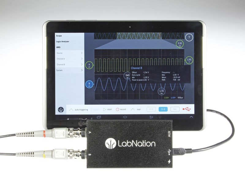 Smartscope and Tablet