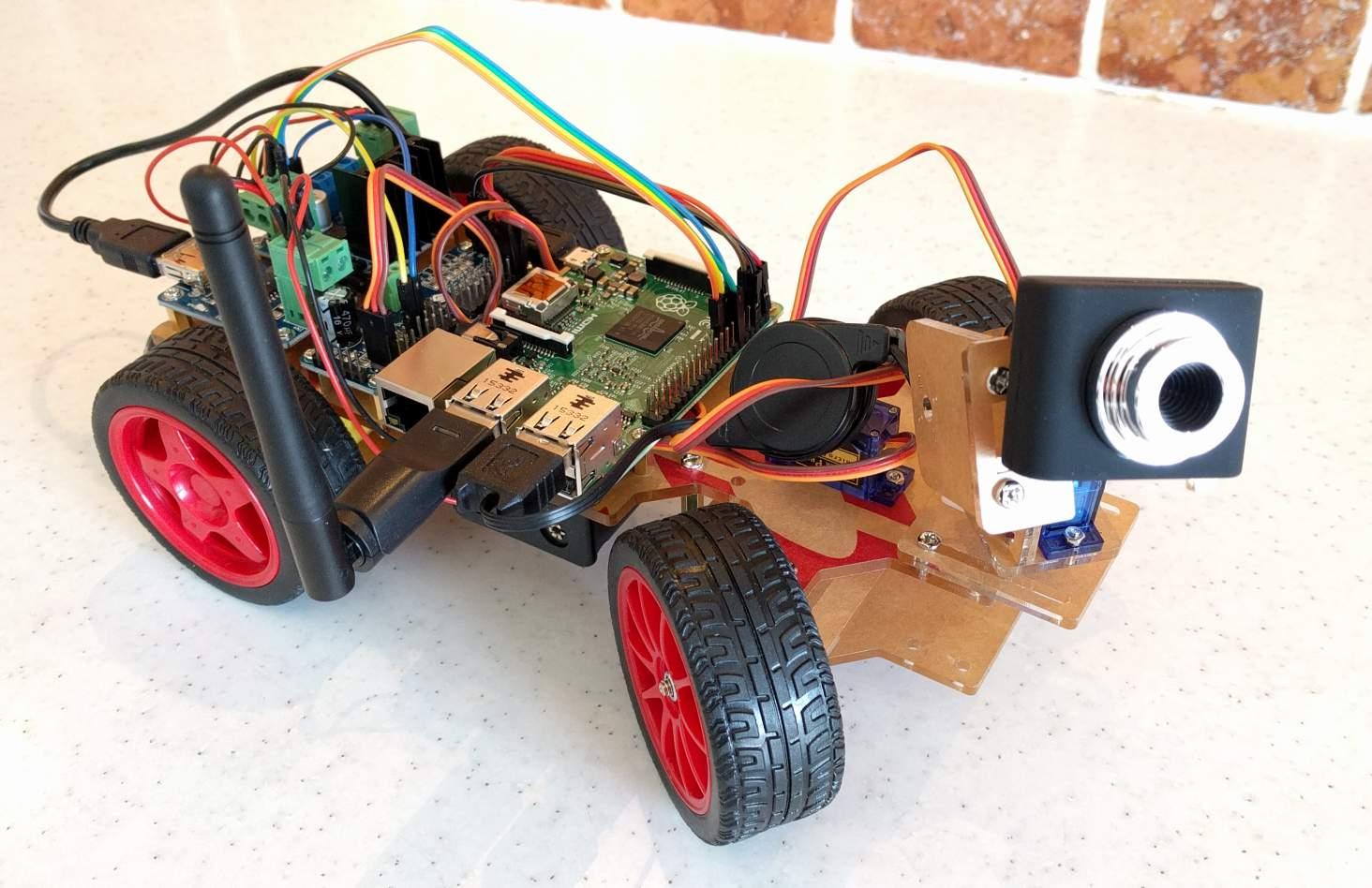 review sunfounder smart video car kit for raspberry pi. Black Bedroom Furniture Sets. Home Design Ideas
