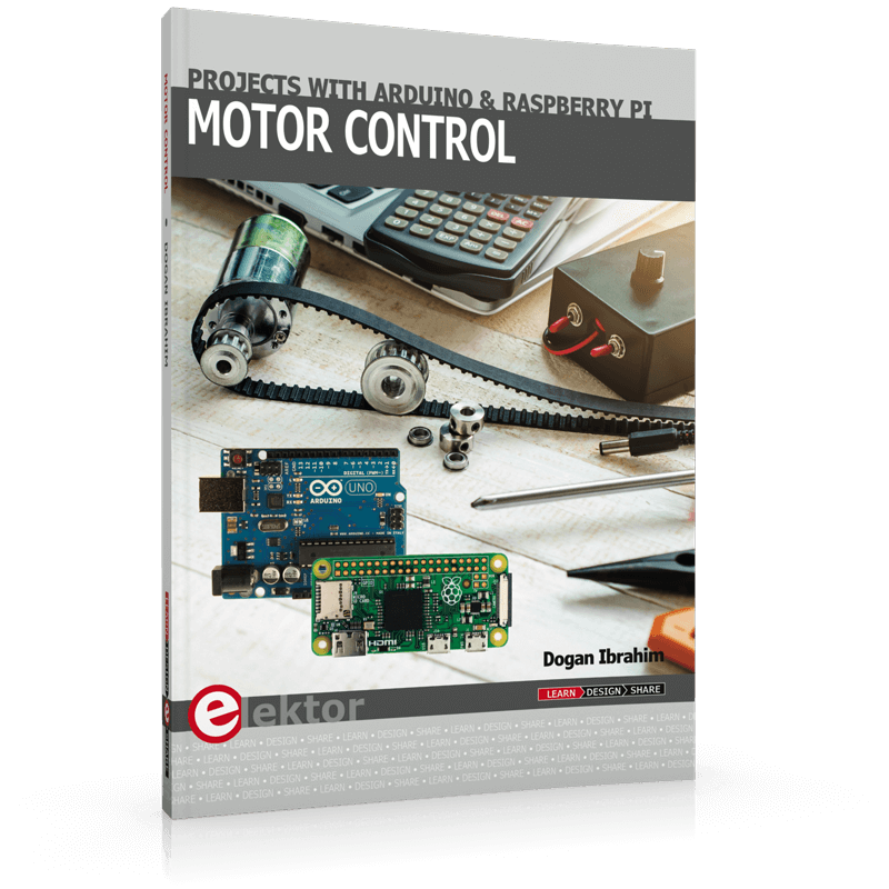 new book motor control projects with arduino and raspberry piTelephone Controlled Motor Page 7 Free Microcontroller Projects #2