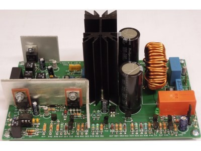 200w class d audio power amplifier [150115] elektor labs elektornew audio power amplifier (150115, pcb 150115 1 v2 1)