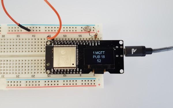 Wemos Lolin = ESP32 + OLED on one board