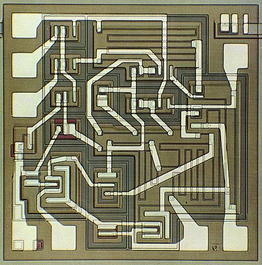 µA709 high-performance op-amp (1965)