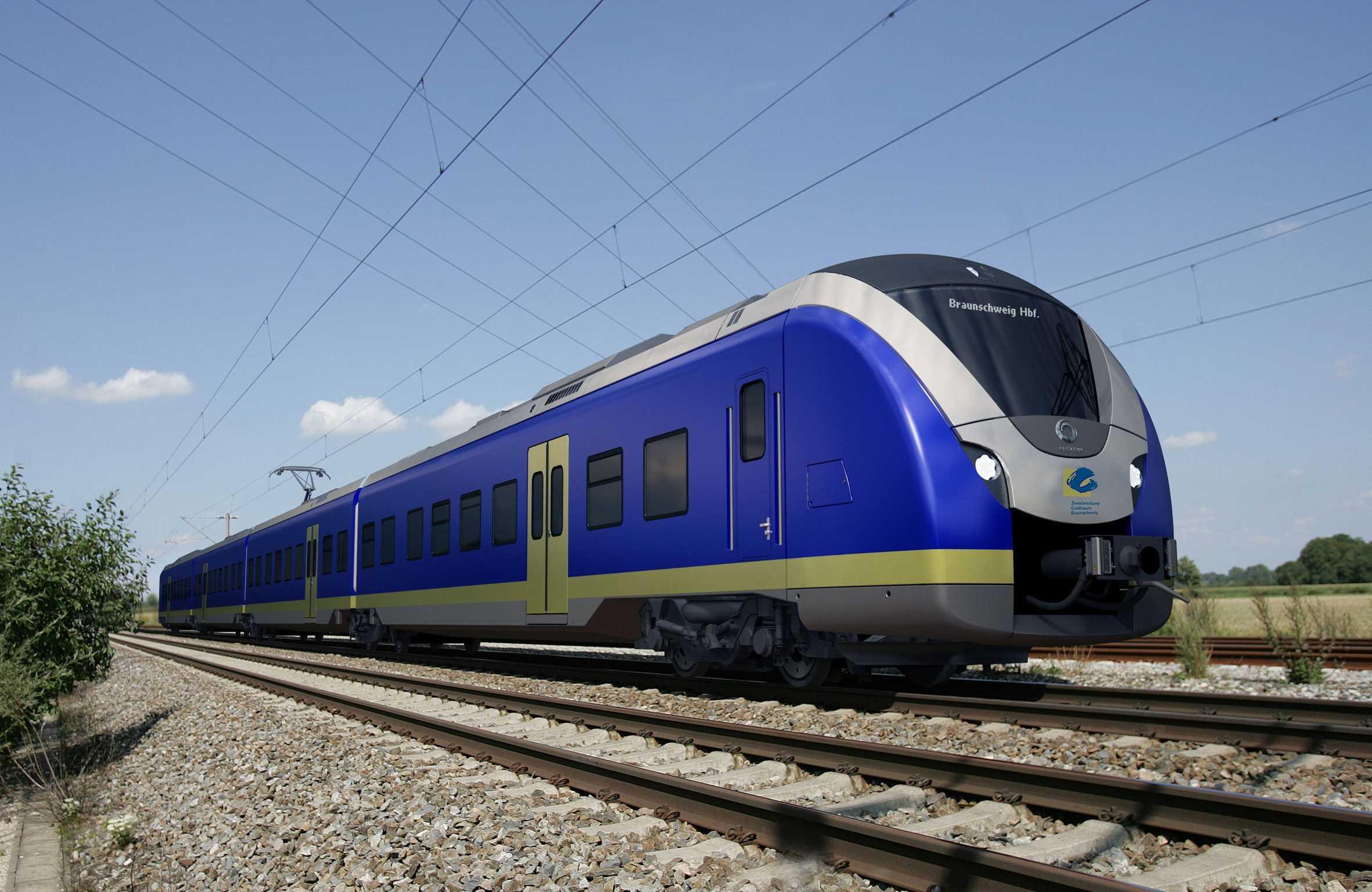 Alstom train rolling stock