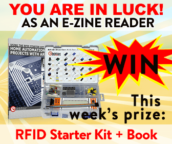 Win an RFID starter-kit for Arduino with accompanying book