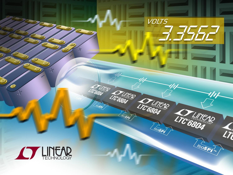 Höhere Genauigkeit bei der Überwachung von Akkuzellen und der Datensicherheit