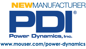 Logo Power Dynamics Inc as a new manufacturer for Mouser
