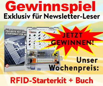 Gewinnen Sie ein RFID-Starterkit für Arduino mit Fachbuch!