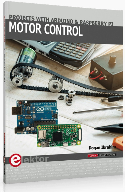 Boekbespreking: Motor Control: Projects with Arduino & Raspberry Pi Zero W