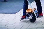 Self-balancing 360-degrees scooter