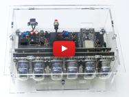 New Elektor LABS kit: VFD-tube Clock with ESP32