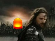 Herr der Fading-LED