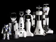 Die in der TU/e-Forschung entwickelten und eingesetzten Pflegeroboter (Foto:. Bart van Overbeeke).